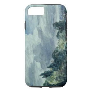 Coque iPhone 7 Vue au-dessus d'un paysage large, avec des arbres