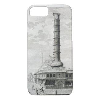 Coque iPhone 7 Vue de la colonne de Constantine et du Principa