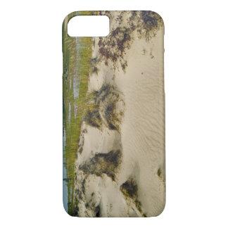 Coque iPhone 7 Vue d'un sommet arénacé des lacs et des collines