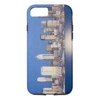 Coque iPhone 7 WA, horizon de Seattle, Seattle et Elliott
