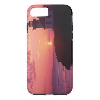 Coque iPhone 7 WA, île de San Juan, four à chaux Lighthouse,