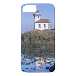Coque iPhone 7 WA, île de San Juan, phare de four à chaux