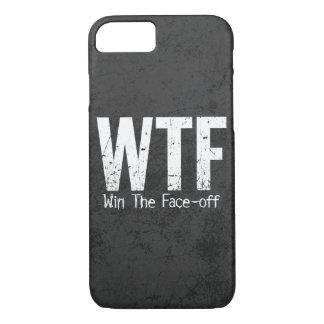 Coque iPhone 7 WTF : Gagnez la remise en jeu (l'hockey)