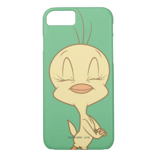 Coque iPhone 7 Yeux fermants de Tweety
