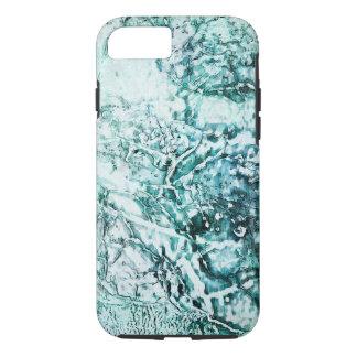 Coque iPhone 8/7 Abrégé sur Aqua - iPhone 7, cas dur d'Apple de
