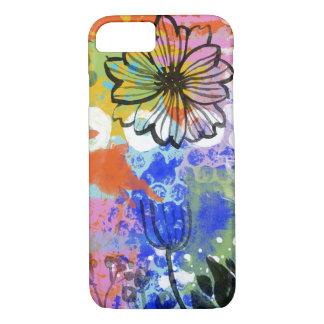 Coque iPhone 8/7 Abrégé sur chic minable peinture de peinture de