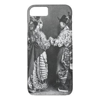 Coque iPhone 8/7 Acteurs chinois par derrière, c.1870 (photo de