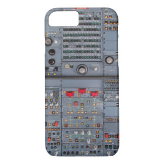 Coque iPhone 8/7 Airbus A321 habitacle Overhead panneau gaine