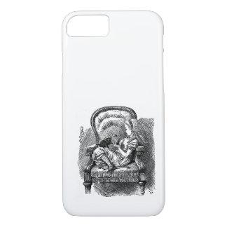 Coque iPhone 8/7 Alice vintage au pays des merveilles dans le