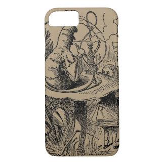 Coque iPhone 8/7 Alice vintage dans le narguilé Caterpillar du pays
