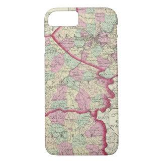 Coque iPhone 8/7 Allegheny, Washington, comtés de Greene