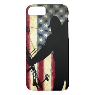 Coque iPhone 8/7 Américain Bowhunter