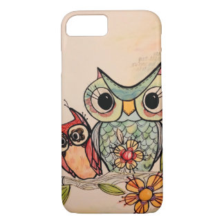 Coque iPhone 8/7 Amis de hibou
