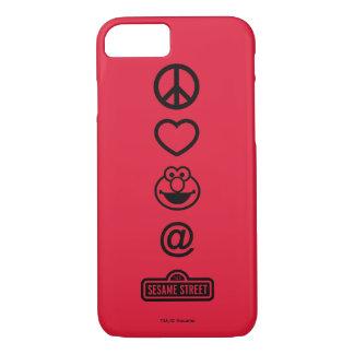 Coque iPhone 8/7 Amour Elmo de paix
