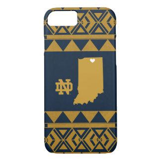 Coque iPhone 8/7 Amour tribal d'état de Notre Dame |