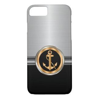 Coque iPhone 8/7 Ancre chique du bateau des hommes