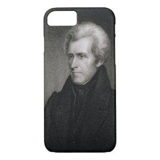 Coque iPhone 8/7 Andrew Jackson (gravure)