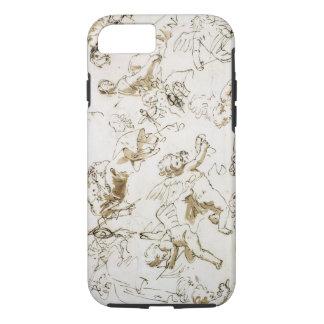 Coque iPhone 8/7 Anges, début du 18ème siècle (à l'encre et lavage