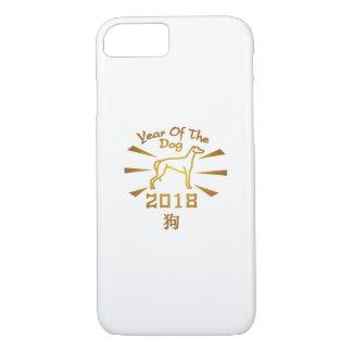 Coque iPhone 8/7 Année du lévrier chinois de nouvelle année du