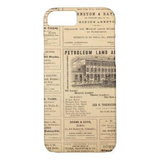 Coque iPhone 8/7 Annonces de pétrole de New York et de la