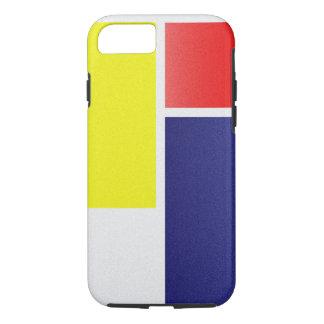 Coque iPhone 8/7 Apstract géométrique de couleur de Moder