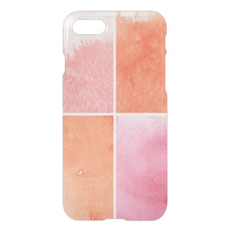 Coque iPhone 8/7 aquarelle colorée