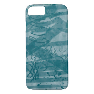 Coque iPhone 8/7 Aquarelle de Digitals d'art peignant le lavage