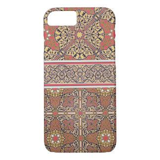 Coque iPhone 8/7 Arabesques de plafond de la mosquée d'EL-Bordeyny,