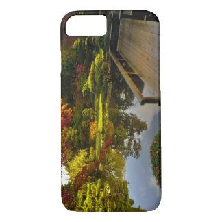 Coque iPhone 8/7 Arborétum, jardin japonais, Seattle, Washington,