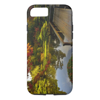 Coque iPhone 8/7 Arborétum, jardin japonais, Seattle, Washington,