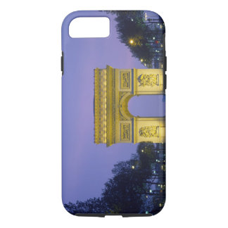 Coque iPhone 8/7 Arc de Triomphe, Paris, France,