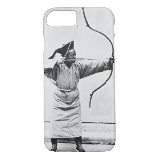 Coque iPhone 8/7 Archer chinois, c.1870 (photo de b/w)