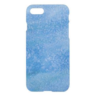 Coque iPhone 8/7 Arrière - plan bleu d'aquarelle