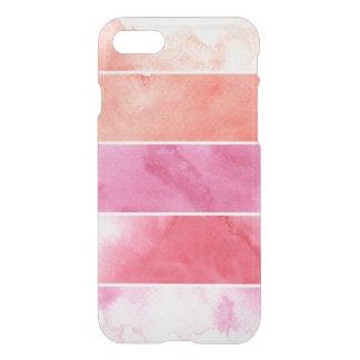 Coque iPhone 8/7 arrière - plan de bannières d'aquarelle pour votre