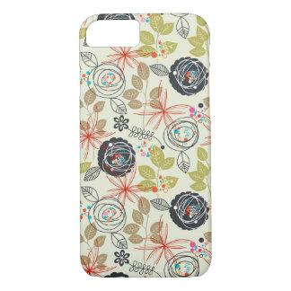 Coque iPhone 8/7 Arrière - plan floral