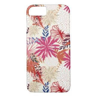 Coque iPhone 8/7 Arrière - plan floral 3