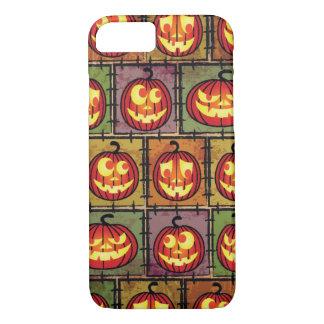 Coque iPhone 8/7 Arrière - plan minable de Halloween