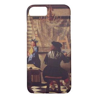 Coque iPhone 8/7 Art de la peinture par Johannes Vermeer