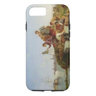 Coque iPhone 8/7 Artiste à son chevalet et expédition au-delà, 1894