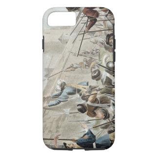 Coque iPhone 8/7 Attaque sur le Boulogne-sur-Mer, gravé par Jean