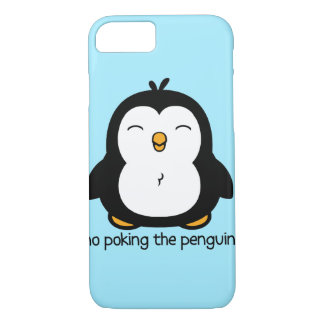 Coque iPhone 8/7 Aucun pousser le pingouin