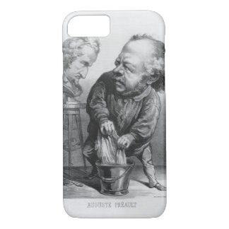 Coque iPhone 8/7 Auguste Preault (1809-79), caricature de 'Le Bou