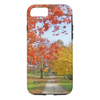 Coque iPhone 8/7 Automne de feuille d'automne