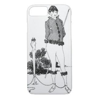 Coque iPhone 8/7 Autoportrait attaché à un Herm (gravure) (phot de