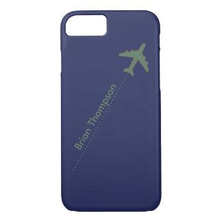 Coque iPhone 8/7 aviateur personnalisé