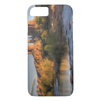 Coque iPhone 8/7 AZ, Arizona, Sedona, récréation 3 de croissant de