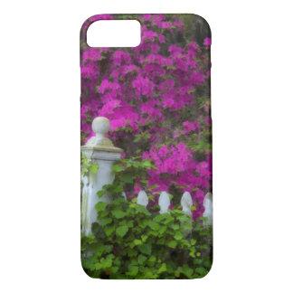 Coque iPhone 8/7 Azalées au printemps à l'île historique de