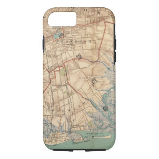 Coque iPhone 8/7 Baie et Brooklyn de la Jamaïque