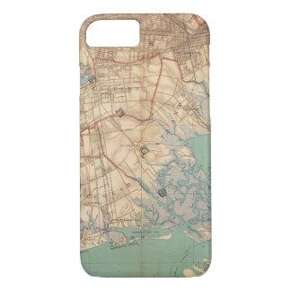 Coque iPhone 8/7 Baie et Brooklyn de la Jamaïque