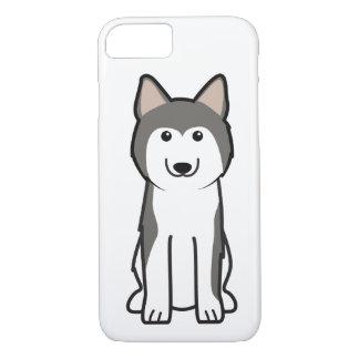 Coque iPhone 8/7 Bande dessinée de chien de chien de traîneau